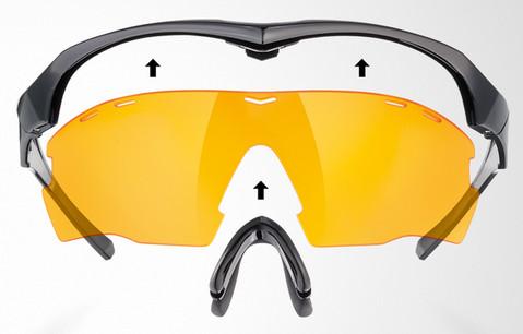 Uvex okulary sportowe